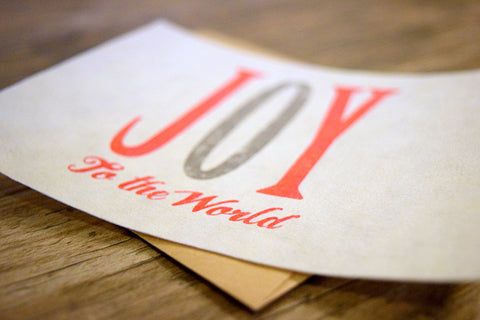 JOY (Set of 4 FreshCards & Envelopes)