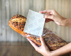 Handcrafted Mini Farm Gift Crate + FRESHPAPER for Bread