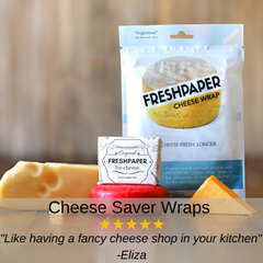 FRESHPAPER Cheese-Saver Wraps