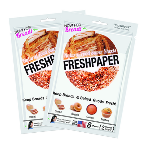 FRESHPAPER for Bread: 2-Pack Bundle (Free Shipping!)