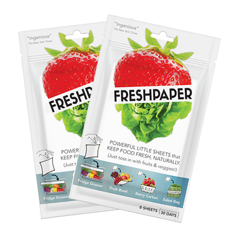 FRESHPAPER for Produce: 2-Pack Bundle (Free Shipping!)