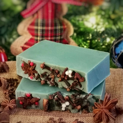 PEPPERMINT AND LEMON SOAP
