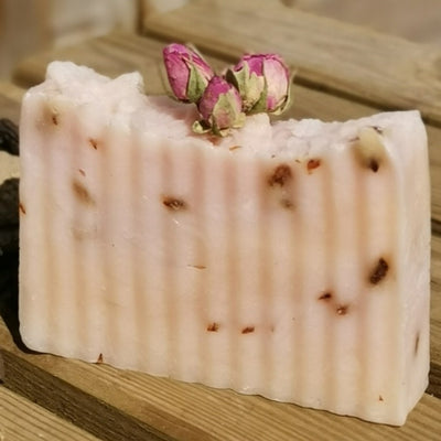 rose vegan handmade soap uk