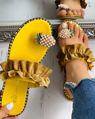 Pineapple Sandals - My Lifes Essentials