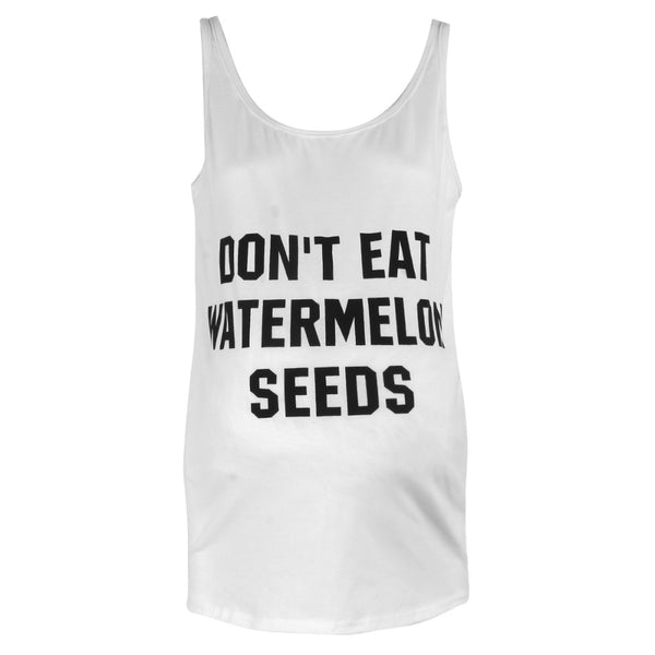 """Don't Eat Watermelon Seeds"" Maternity Shirt - My Lifes Essentials"