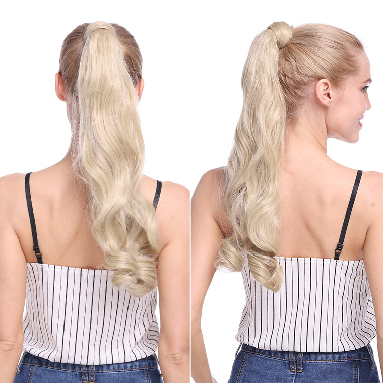 Curly And Straight Ponytail Hair Extensions