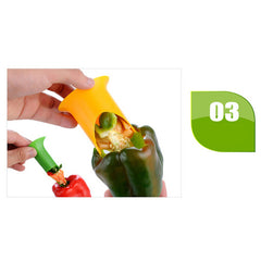 2 in 1 Pepper Seed Remover - My Lifes Essentials