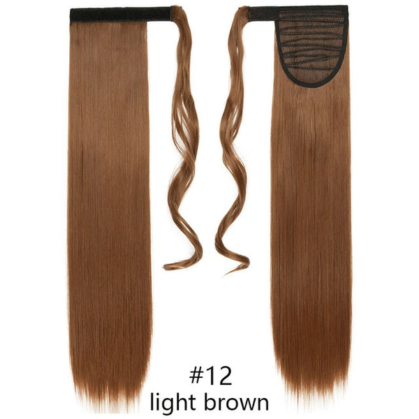 Curly And Straight Ponytail Hair Extensions - My Lifes Essentials