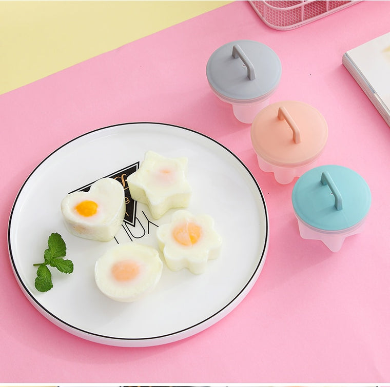 Cute Egg Boiler And Shape Set