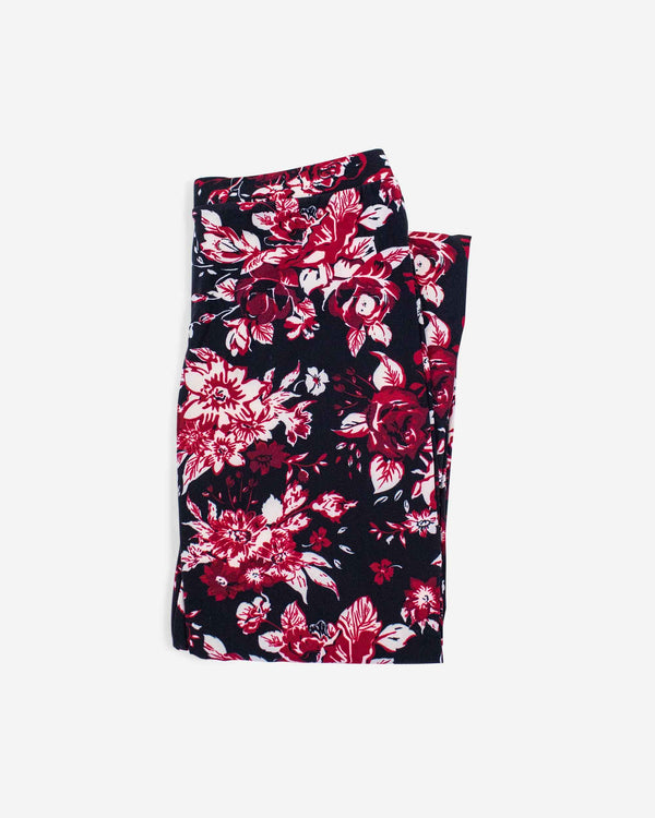 Femme Floral High-waisted Legging - Fashion Off The Rack