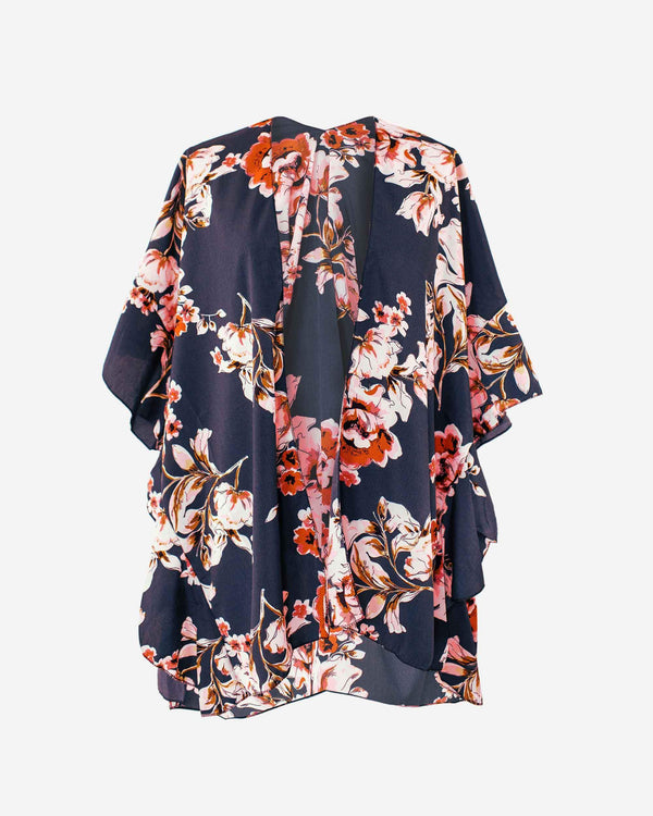 Vibrant Blossom Anywhere Robe - Fashion Off The Rack