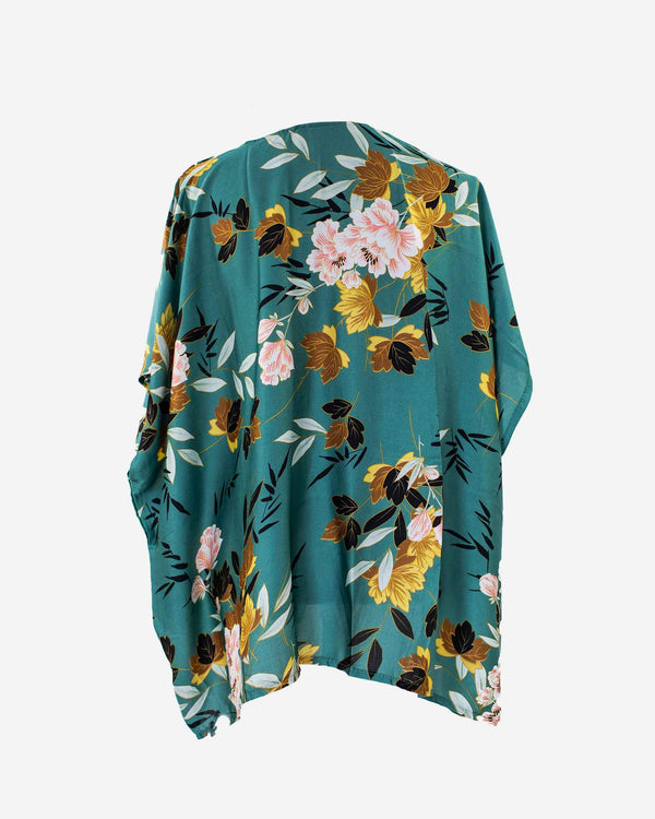 Full Bloom Classic Floral Kimono - Fashion Off The Rack