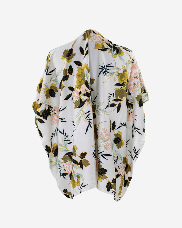 Full Bloom Vintage Floral Kimono - Fashion Off The Rack