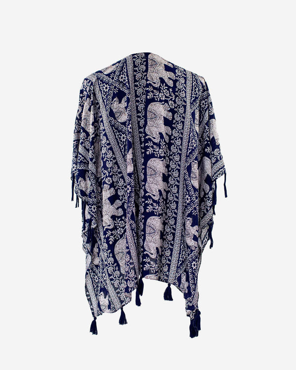 Trunks Up Navy Anywhere Robe - Fashion Off The Rack
