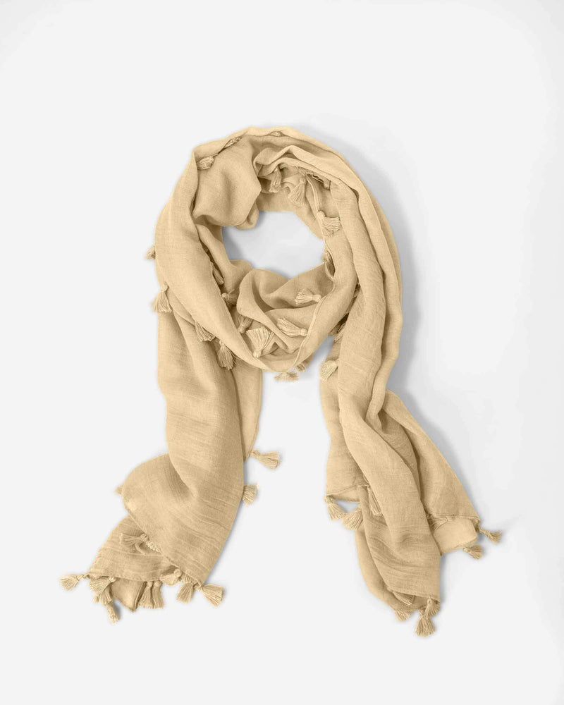 Boho-Chic Lightweight Scarf - Fashion Off The Rack