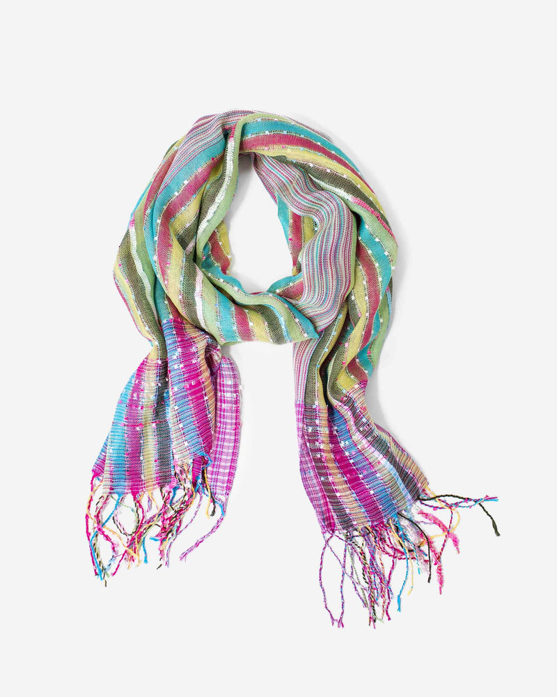 Painted Desert Striped Scarf - Fashion Off The Rack