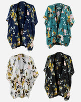 'THE FULL KIMONO WRAP SET' with Navy, Black, Ivory and Green Kimono Wraps