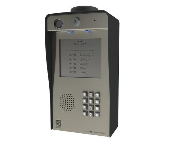 Ascent X2 – Cellular Multi-Tenant Entry System with Directory Insert