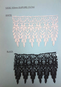 103mm Guipure Lace
