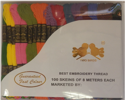 Embroidery Silks 100's