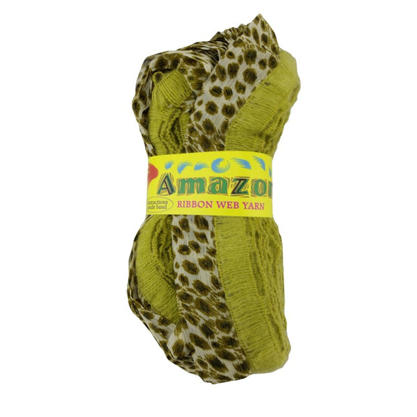 Amazon Ribbon Web Yarn 100g