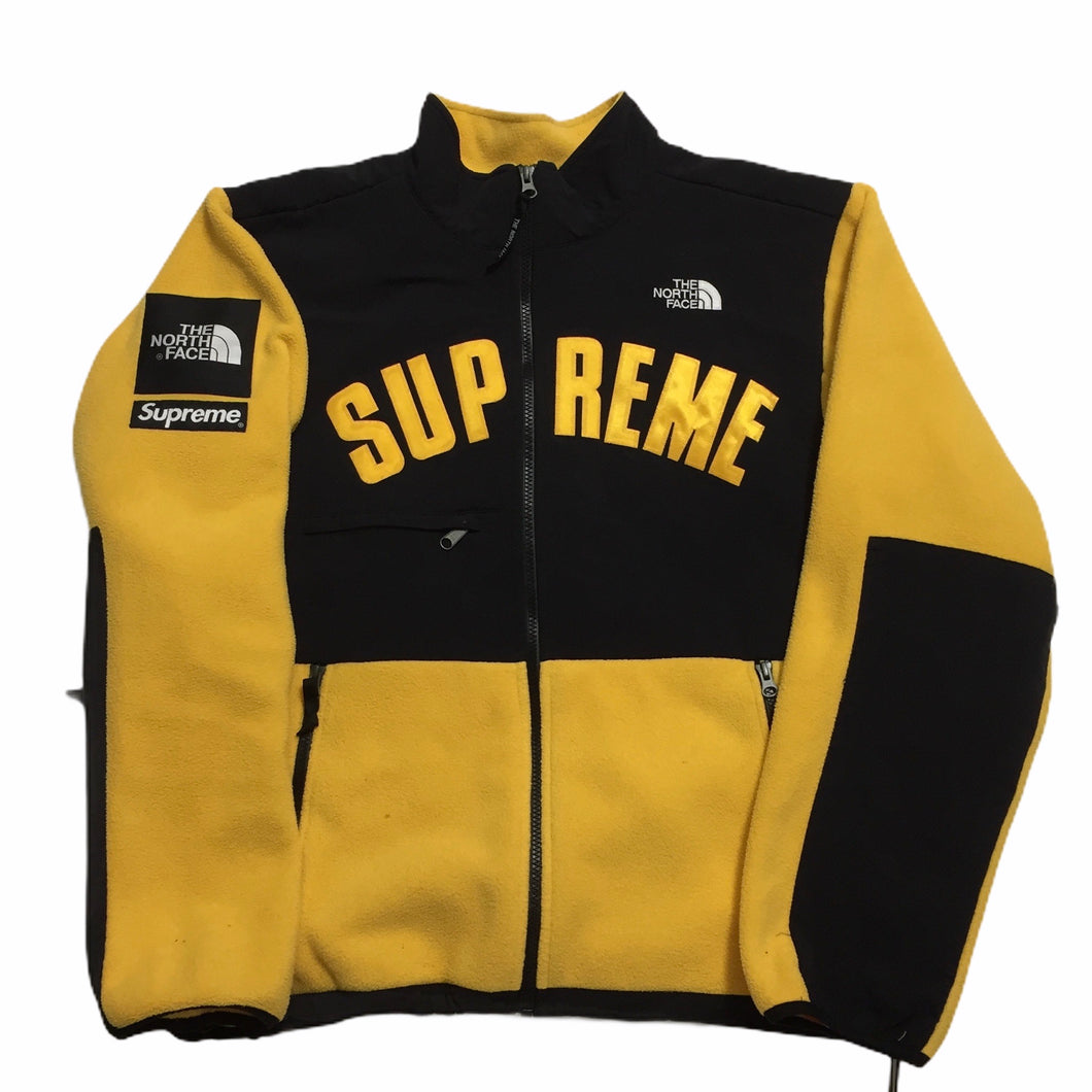 2019 Supreme x The North Face Yellow Arc Logo Fleece