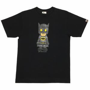 2007 BAPE Black Batman DC Tee