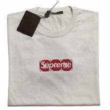 Load image into Gallery viewer, 2017 Supreme Louis Vuitton Official Box Logo Tee