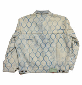Off-White Fence Denim Jacket