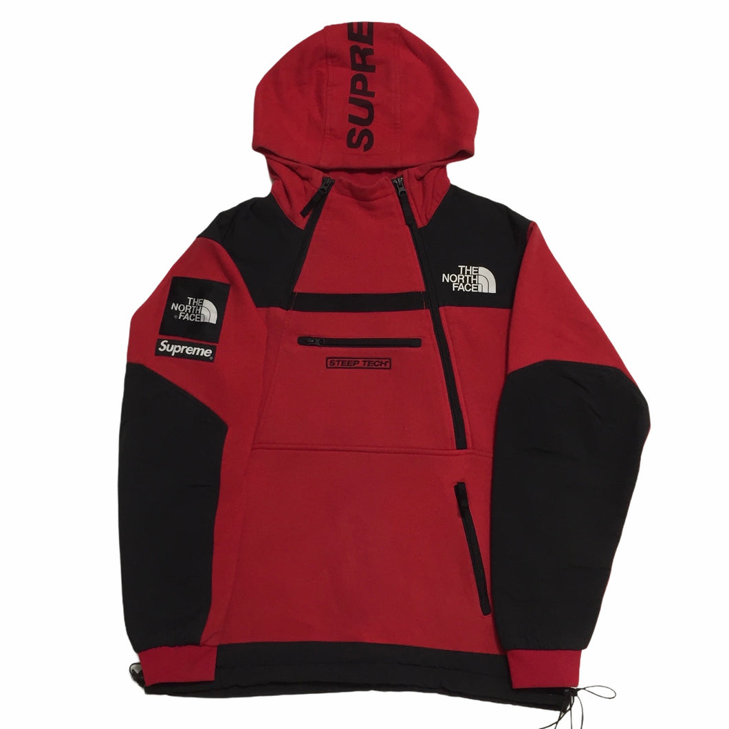 2016 Supreme x The North Face Red Steep Tech Fleece