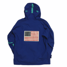Load image into Gallery viewer, 2017 Supreme x The North Face Blue Antartica Expedition Pullover
