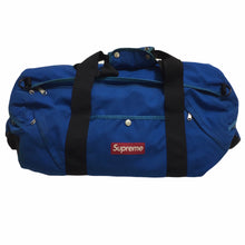Load image into Gallery viewer, 2010 Supreme Blue Duffle Bag