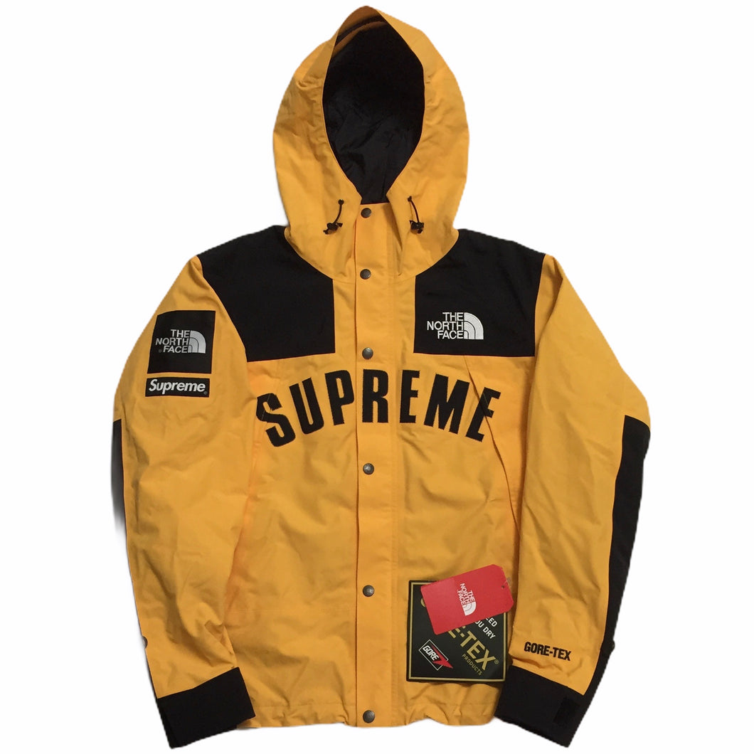 2019 Supreme x The North Face Yellow Arc Logo Mountain Light