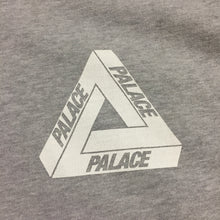Load image into Gallery viewer, Palace Grey Tri Feng Logo Thermal Zip Up Logo