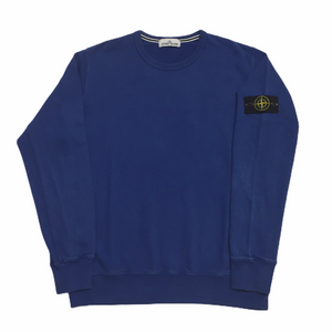 Stone Island Royal Blue Crewneck