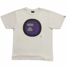 Load image into Gallery viewer, BAPE Round Purple Logo Tee