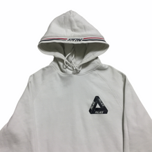 Load image into Gallery viewer, Palace White Black Trifeng Logo Hoodie