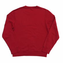 Load image into Gallery viewer, 2017 Supreme Louis Vuitton Red Monogram Arc Logo Crewneck