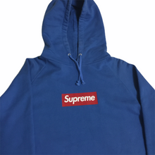 Load image into Gallery viewer, 2006 Supreme Blue Screenprint Box Logo Hoodie