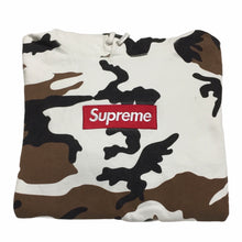 Load image into Gallery viewer, 2016 Supreme Cow Camo Box Logo Hoodie
