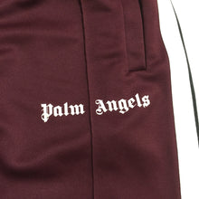 Load image into Gallery viewer, Palm Angels Burgundy Trackpants