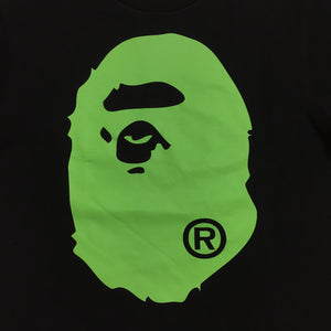 BAPE Green Ape Head Tee