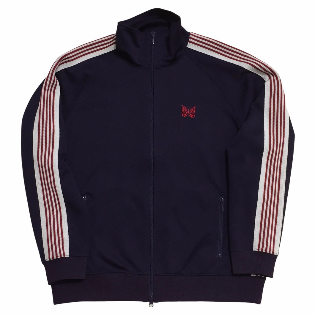 Needles Dark Purple Red Track Top