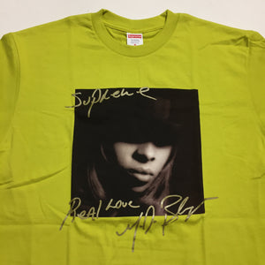2019 Supreme Neon Yellow Mary J Blige Tee