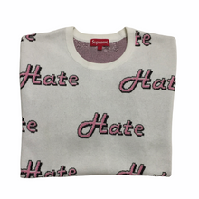 Load image into Gallery viewer, 2013 Supreme Pink White Knit Crewneck