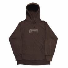 Load image into Gallery viewer, 2011 Supreme KAWS Brown Box Logo Hoodie