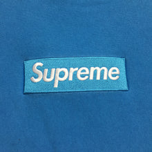 Load image into Gallery viewer, 2018 Supreme Royal Blue Box Logo Crewneck