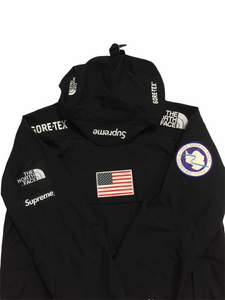 2017 Supreme x The North Face Black Antartica Pullover Jacket