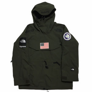 2017 Supreme x The North Face Olive Antartica Pullover