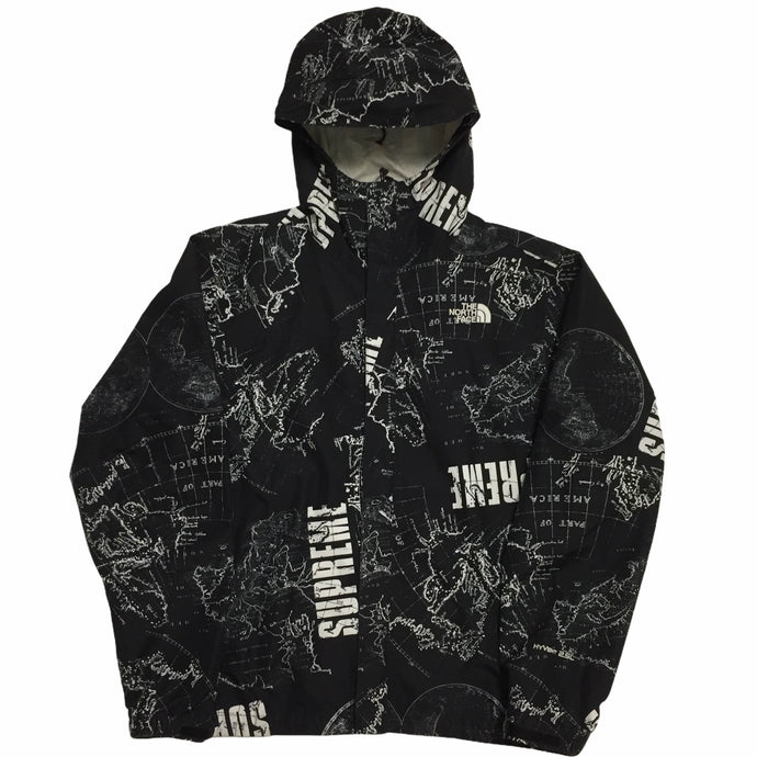 2012 Supreme x The North Face Black Venture Mountain Pullover